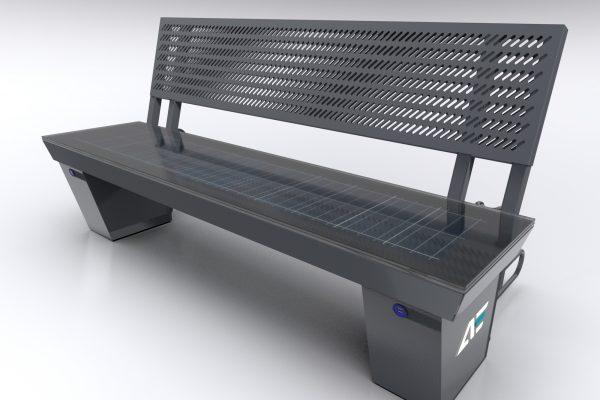 e-Ławka solarna perforacja