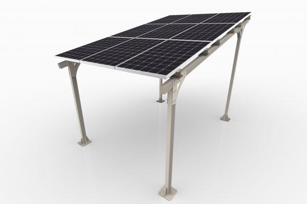 Solarny e-CarPort AE40