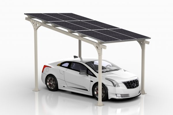 Car Port AE40 samochód elektryczny