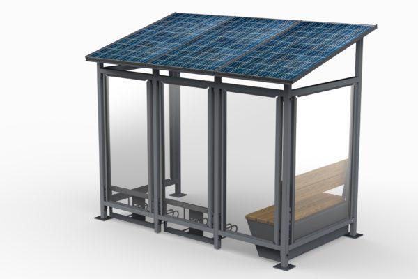 solarna e-Wiata rowerowa AE008 - XL